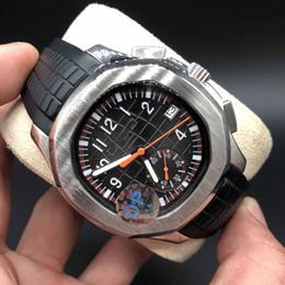 4c4c2d0e6ff 2018 novos homens Nautilus relógio de alta qualidade mostrador laranja VK  Shi Ying movimento relógio 40 milímetros Nautilus 5968A - 001 pulseira de  borracha