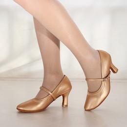 4550a48cb1 Zapatos de vestir Bombas informales Mujeres Bailando Baile moderno Salón de baile  Baile latino Sandalias de fondo suave Boda Mujer # 1220