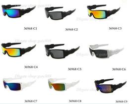 2019 rubinrote brille 10 STÜCKE Neue Mode Bunte Populäre Wind Radfahren Spiegel Sport Outdoor Brillen Brille Sonnenbrillen Für Frauen Männer Sonnenbrillen