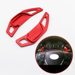 Accessori per rav4 online-Volante Gear Shift Paddle Shifter Estensione parte adatta per Toyota RAV4 Zelas Corolla Mark X Camry 2013-2016 Accessori