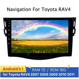 mazda dvd gps bluetooth Rabatt 9 '' Android 9.1 Auto Multimedia mp5 2 Din Radio GPS Navi Audio-Radio für RAV4 Rav 4 2007 2008 2009 2010 2011 Auto-DVD