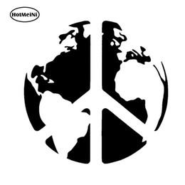 Deutschland Großhandel 20 teile / los Welt Frieden Auf Erden Vinyl Aufkleber Auto Aufkleber Fenster Wand Stoßstange Laptop Symbol Stoßstange Zubehör Schwarz / Splitter 13 cm x 13 cm cheap windows symbols Versorgung
