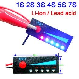 lg ton bluetooth sans fil Promotion Électronique grand public 1 2 3 4 5 7 12 12 8S 10S 24V plomb acide batterie au lithium Capacité Indicateur LED Affichage 3.7V
