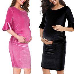 40bbf2b59be1 vestiti da festa di gravidanza Sconti Perimedes Abiti di maternità per baby  shower Abito di maternità