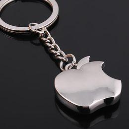 Neue ankunft Neuheit Souvenir Metall Apple Schlüsselanhänger Kreative Geschenke Apple Keychain Schlüsselanhänger Schmuckstück auto ring auto von Fabrikanten