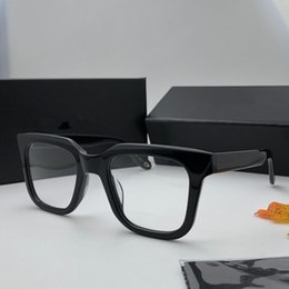 mode lunettes Promotion Authentique luxe mode mens optique glases 0047 cadre de plaque de haute qualité Simple atmosphère vente style populaire lunettes avec paquet