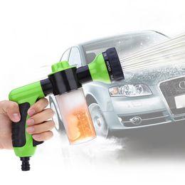 2019 cuero sintético de lavado 2016 Venta caliente Lavado de coches Espuma Pistola de agua Lavadora de coches Portátil Durable Alta presión para lavado de coches Boquilla Spray Envío gratis Envío gratis