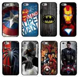 Coque iphone X XR Xs Max 7 6 6S 8 Plus 5 5S Coque Ironman Marvel Avengers Concepteur en TPU ? partir de fabricateur