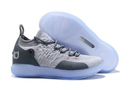 2019 Новый KD 11 EP белый оранжевый пена розовый параноидальный Oreo лед баскетбол обувь оригинальный Кевин Дюрант XI Kd11 мужские кроссовки от