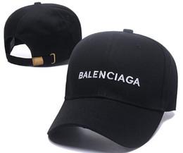 Berretti francesi online-BALE NCIAGA Berretto da baseball Berretto da baseball di lusso Francia Parigi casual cappello regolabile snapback cap hip-hop cappello da skateboard coppia tappi 18