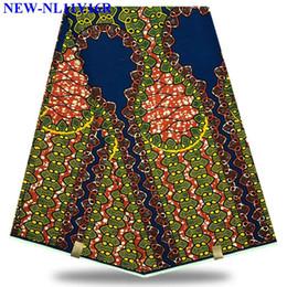 Canada Le plus populaire Tissu africain de haute qualité imprimé à la cire 100% coton Couleur rouge cire hollandais africain pour la robe ankara MLK32 cheap african prints fabrics Offre
