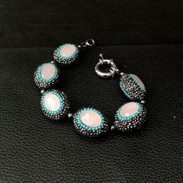 bracelets en cristal d'hématite Promotion Bracelet en macarsite noir cristal hématite 8