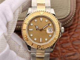 embalagem relógio de luxo Desconto N homens assistir 18k genuíno pacote de ouro rosa de ouro relógio de luxo 40MM ETA2836 movimento bidirecional cadeia automática relógio mecânico dos homens