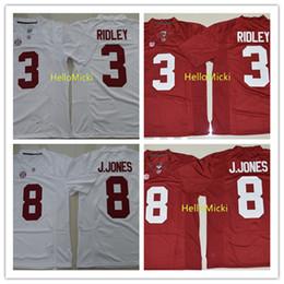72a27ac084d Mens NCAA Alabama Crimson Tide #3 Calvi Ridley Football Jerseys Stitched  #11 Julio Jones Jerseys