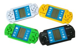 NOUVEAU Enfants Machine De Jeu Classique Tetris Machines De Jeux Électroniques PSP Console De Jeu Joueur Console Pour Enfants Adultes Intelligence Jouets Cadeaux ? partir de fabricateur