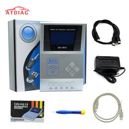 Wholesale Hot Wireless RF Remote Controller Contador digital Contador copiador remoto H618 programador clave probador de frecuencia