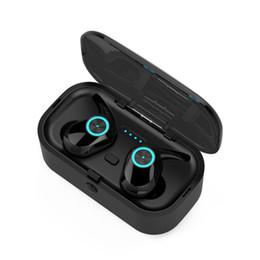 bluetooth di bassa potenza Sconti Pods T1 TWS Cuffie Bluetooth 5.0 Cuffie stereo a doppio orecchio Cuffie senza fili a basso consumo energetico Cuffie senza fili Cuffie Bluetooth
