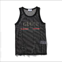 b2efc1ee9 mejores marcas de ropa interior masculina Rebajas Diseñador para hombre sin  mangas con letras deporte culturismo