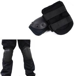 Pattino protettivo ginocchiere militare gomito pad tattico protettivo paintball combattimento airsoft paintball attrezzatura da caccia # 270751 cheap paintball pads da pattini di paintball fornitori