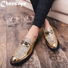 chaussures italiennes formelles pour hommes Promotion Marque 3 couleurs Hommes épais Bas Robe Chaussures Luxe Italian Style Mode Hommes Chaussures formelles tendance Bring cuir d'affaires