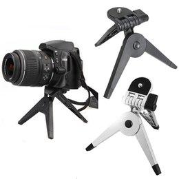 Soporte de cámara plegable online-Escritorio Fotografía portátil plegable soporte universal del trípode para la cámara réflex digital Videocámara