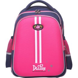 cab7d56483fe 2019 Delune Brand Kids Schoolbag For Grade 1-6 Boys Girls Orthopedic  Backpack 5-12 Years Children New Design Primary School Bags