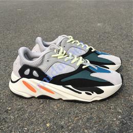 Com Caixa 700 Wave Runner Mauve Inércia Tênis Kanye West Sapatos de Grife Homens Mulheres 700 V2 Esportes estáticos Seankers EUR 36-46 de Fornecedores de insta pump fury