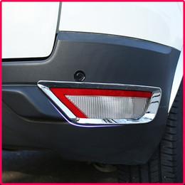 2019 ford ecosport accesorios Un pequeño cambio ABS luces antiniebla traseras luz antiniebla luz antiniebla cromo etiqueta engomada de la cubierta para Ford Ecosport 2012 -2017 accesorios de coche rebajas ford ecosport accesorios