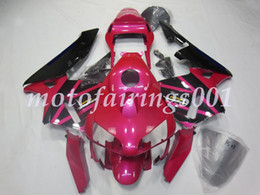 pink honda motorcycles Coupons - (Injection Mold) New ABS Motorcycle Fairings set Fit for HONDA CBR 600 2003 2004 CBR600RR F5 600RR 03 04 Full fairing kit Pink black