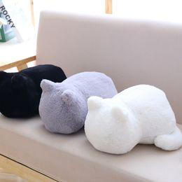 2019 vrais dessins animés Simulation de dessin animé poupée chat poupée chat peluche oreiller jouet vie réelle oreiller cadeaux mignons décoration promotion vrais dessins animés