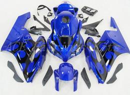 3 regalos Nueva motocicleta ABS Kits de carenados completos + cubierta del tanque Ajuste para HONDA CBR1000RR 04 05 2004 2005 CBR1000RR conjunto de carrocería Carenado azul negro desde fabricantes