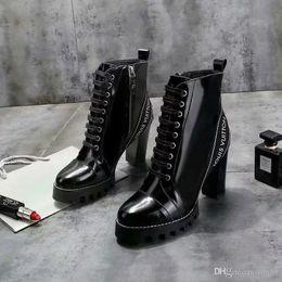 Cortar botas mais curtas on-line-19ss sapatos femininos no outono e inverno Botas elásticas de malha Designers botas curtas meias botas grandes sapatos de salto alto
