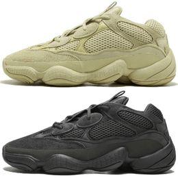 93e3b52c2 Kanye West 500 Desert Rat Blush 500s Salt Super Moon Yellow 3M Utility Black  Pink mens running shoes for men women sports sneakers trainers kanye west  moon ...
