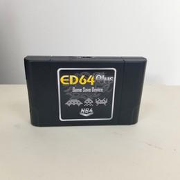 Canada ED64 Plus Game Save Drive Pour Console de jeux vidéo N64 64 bits avec carte 8 Go gratuite Nombreux Jeux Offre