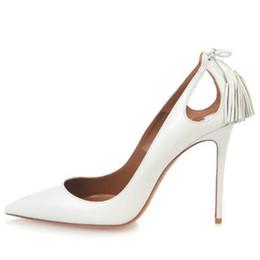 2019 talons de mélisse 2019 chaussures de designer chaussures de mode orteils pointus gland talons hauts chic sapatos melissa dames sandalia talons aiguilles femmes pompes chaussures de soirée promotion talons de mélisse