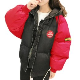 eddbee9ff54 Winter Coat Women Parka Down Jacket Stand Collar Anorak Thick Windbreaker  Female Zipper Quilted Coat Femme Korean Style B266