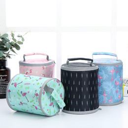 Bolsos de mano online-Bolsa de almuerzo reutilizable con aislamiento de biberón, bolsa de almuerzo reutilizable, leche de pecho, bolsa de almuerzo aislada con bolso de aluminio, bolsa de almuerzo plegable