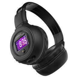 Mikro-radio-hifi online-Zealot B570 Hifi Stereo Bluetooth Kopfhörer Wireless Headset Mit Mikrofon Fm Radio Micro Sd Karte Spielen J190515