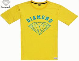 2019 diamant-versorgungsmaterial-hemden freies verschiffen S-5xl kostenloser Versand Männer Hip Hop Diamond Supply Herren Quick Dry O-Neck Druck T-Shirt Baumwolle Männer 1400028 günstig diamant-versorgungsmaterial-hemden freies verschiffen
