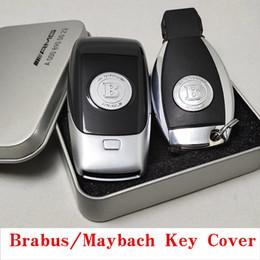 série chave esperta do bmw Desconto Mercedes-Bz Maybach Chave Shell Nova Classe E Classe C Classe S E300L BRABUS Barbos Chave Tampa Traseira Chave 60S 40S S450 S350 E300 W212 W213 W221 W222