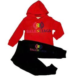 Trajes de bebé de un año online-BEBÉS muchachas de la ropa + pantalones de alta calidad primavera y otoño traje de años espesantes 2-8 bebé bebé de la ropa de los niños