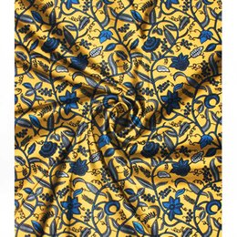 2019 tecidos para impressão digital 2019 imitado tecido de cetim de seda digital impresso tecido ankara africano padrão de cera de 4 metros de tecido audel + 2 metros de chiffon para o vestido tecidos para impressão digital barato