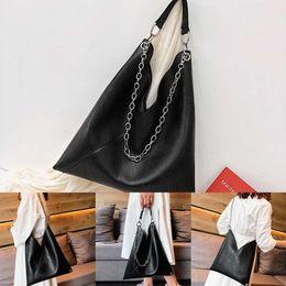 bonitas bolsas de hombro negro Rebajas 1 bolsas punk Bolsos negros Mujer De Marca Famosa Nice Women Pop Bolso simple Retro Chain Messenger Bag Fashion Shoulder Bag # 50