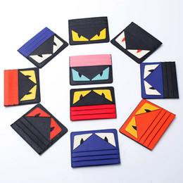 Корейский владелец паспорта онлайн-Настоящая Обложка для Паспорта Маленькая Сумка Monster Card Ladies Кожа Тонкий Корейский Мини Кредитные Карты Для Студентов Мужчин Держатель Банка