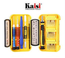 iphone 24 Promo Codes - New Kaisi Cell Phone Multifunctional Mobile Phone Dismantling 24 in 1 Repair Dismantle Tools Kit Screwdrivers For Computer iPhone Samsung