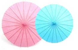 2019 materiais de arte para crianças 100 pçs / lote Frete grátis Chinês colorido Umbrella China tradicional dança jardim de infância diy pintura material de arte para crianças papel de óleo A231