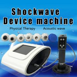 máquinas de massagem digital Desconto Máquina de terapia de massagem digital de onda de choque de tratamento de dor de corpo ED / Novo equipamentos de fisioterapia equipamentos de terapia por ondas de choque