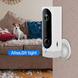 Wireless cam battery on-line-100% sem fio bateria sem fio ip camera-wifi 720 p pet câmera de segurança interna de monitoramento de vídeo de duas vias de áudio cam
