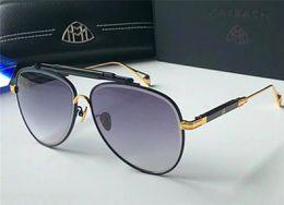 armação de titânio óculos de sol homem Desconto Top luxo K homens de ouro eyewear marca de carro Maybach designer óculos Piloto titanium frame top quantidade ao ar livre uv400 óculos de sol O OBSERVADOR 1