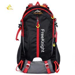 Zainetti liberi del cavaliere online-Free Knight 30L Borse Outdoor Nylon Resistente All'acqua Arrampicata Zaino Alpinismo Camping Escursionismo Traceling Bag # 767733